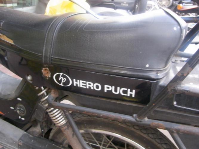 hero puch scooters